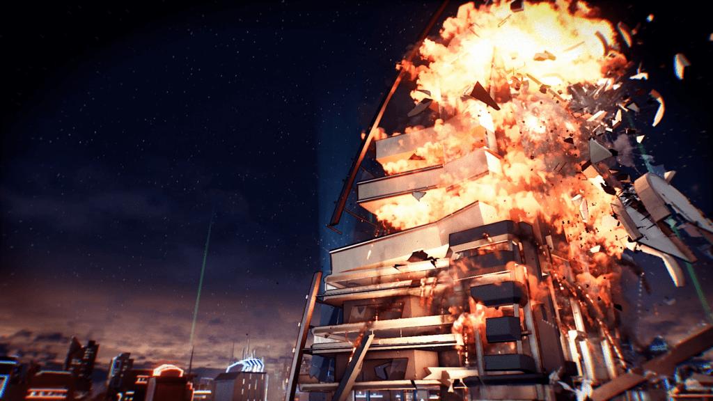 Crackdown 3 building explosion