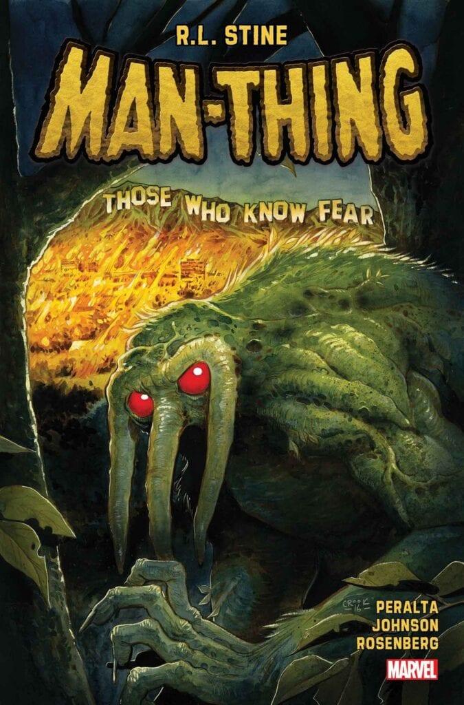 man-thing R.L. Stine