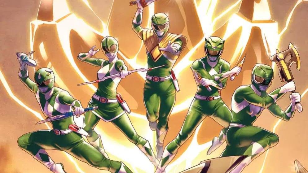 Power Rangers comic #9 cover
