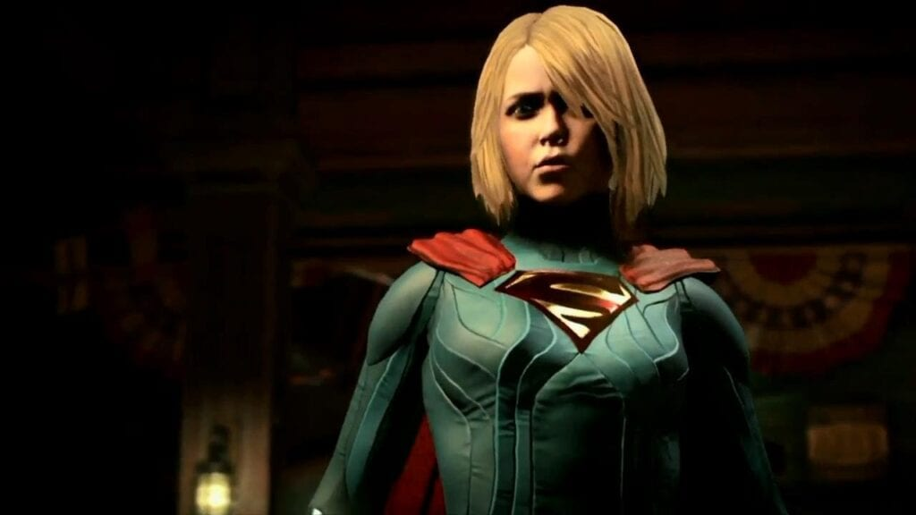 Supergirl fighting moves