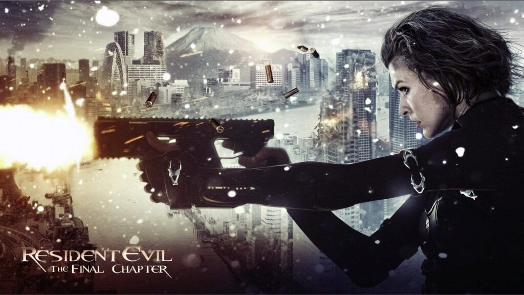 Resident Evil The Final Chapter Header