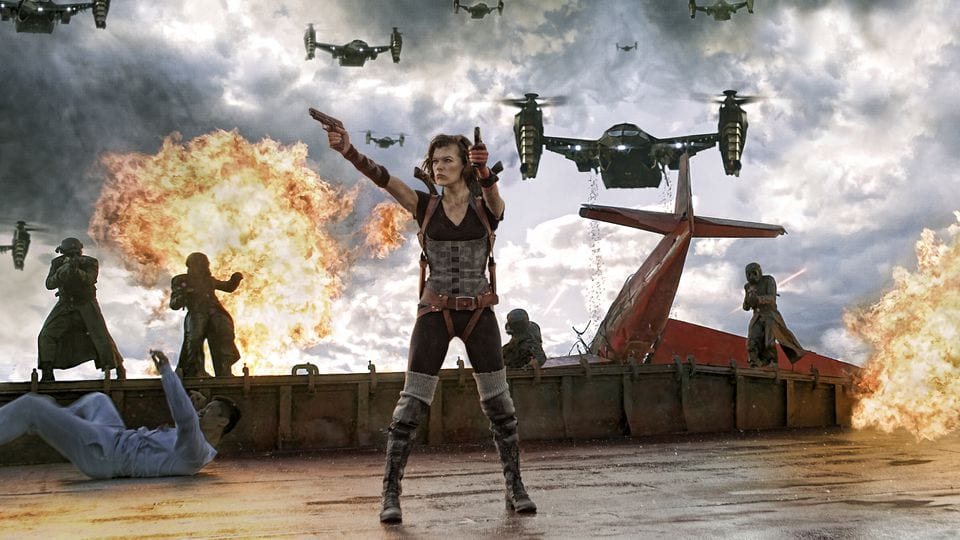 Resident Evil Film Franchise