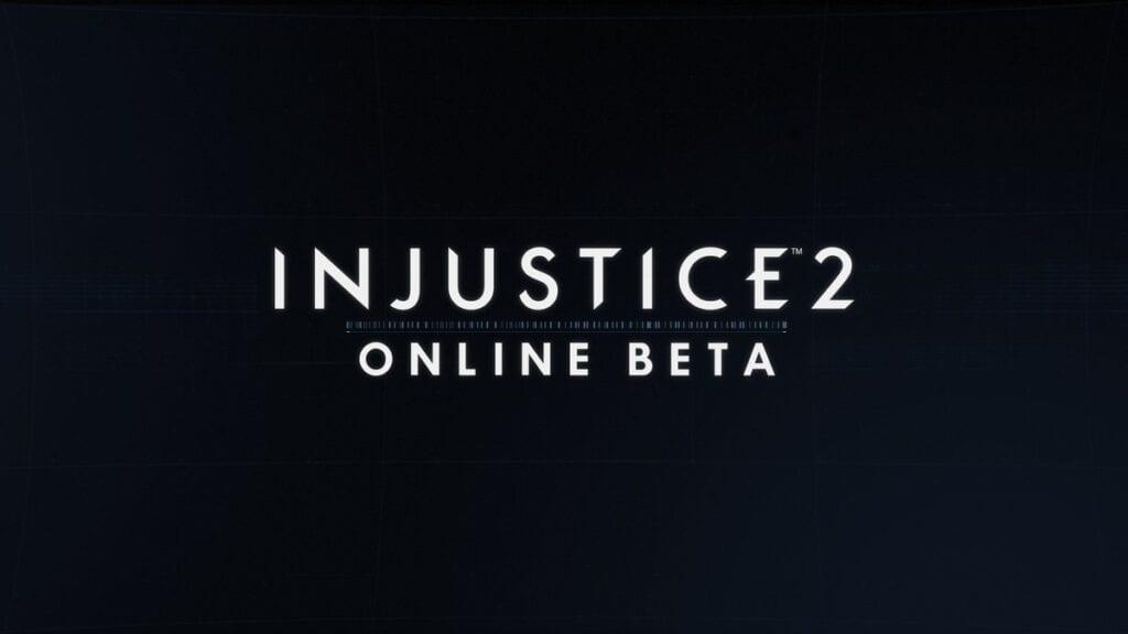 Injustice 2 Beta