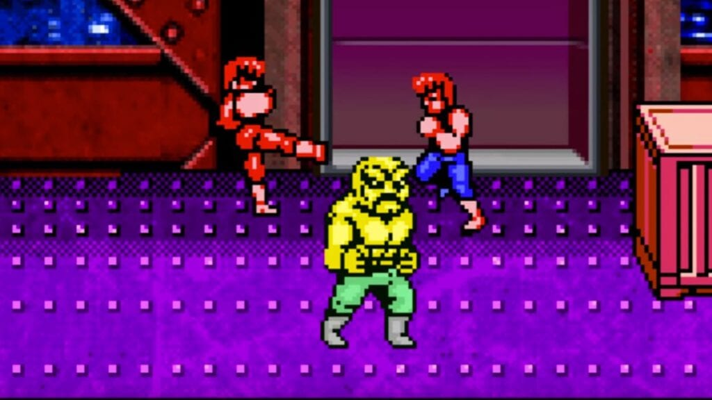 double dragon iv boss fight