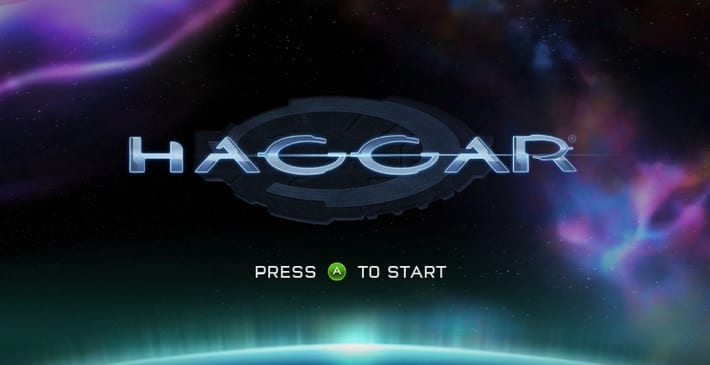 "Halo game ""Haggar"" title screen"