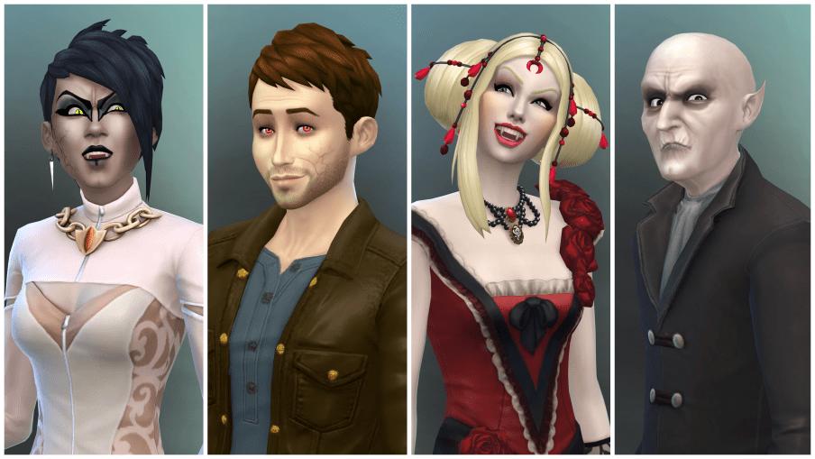 Sims 4 Vampire
