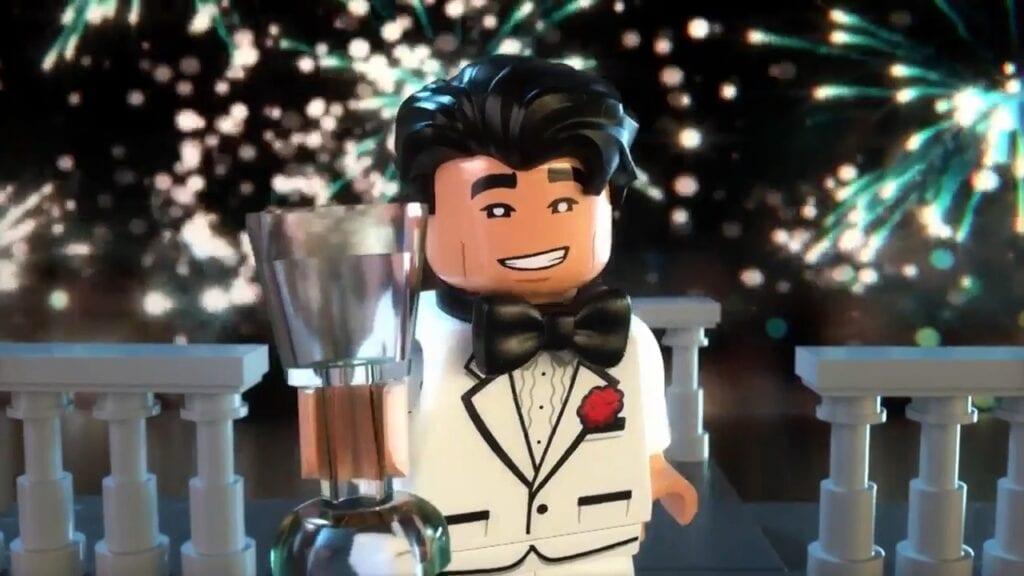 Lego Batman Happy New Year