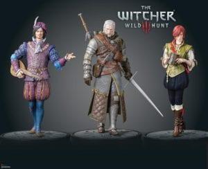 The Witcher 3: Wild Hunt figures
