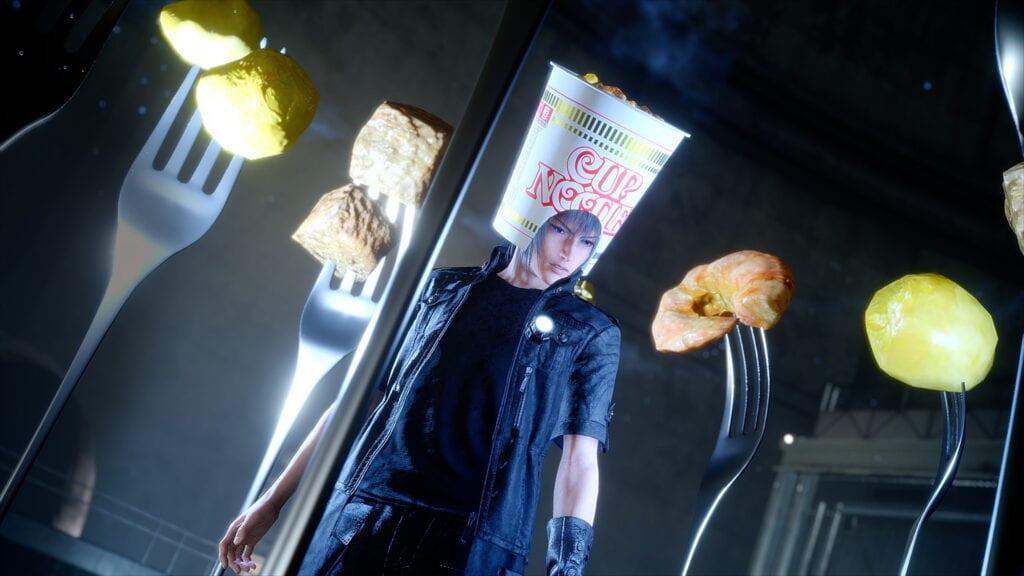 cup noodle hat