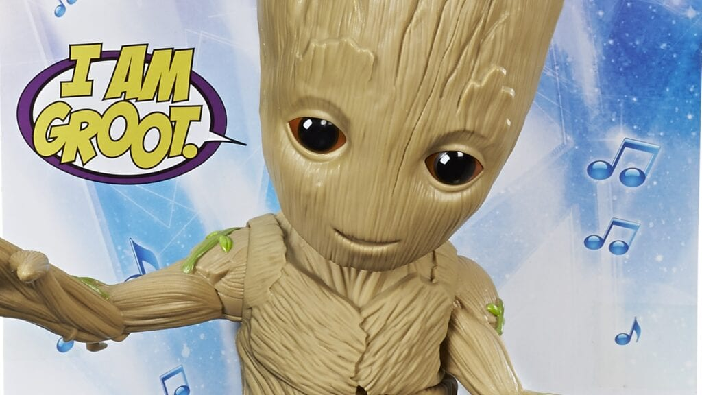 guardians of the galaxy toys dancing groot