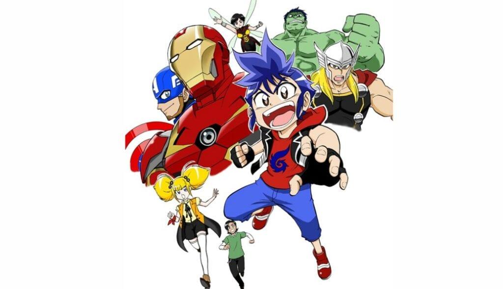 Marvel Future Avengers Anime