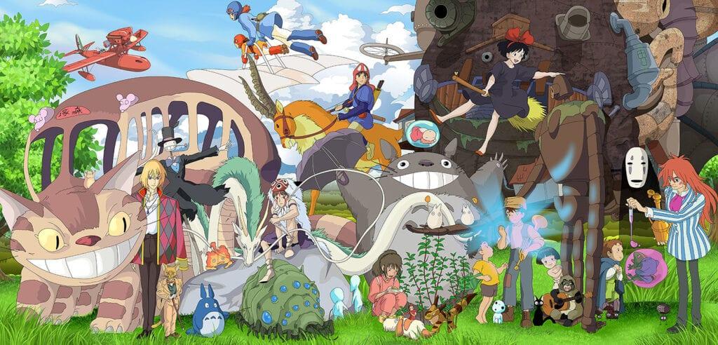 miyazaki all animated films