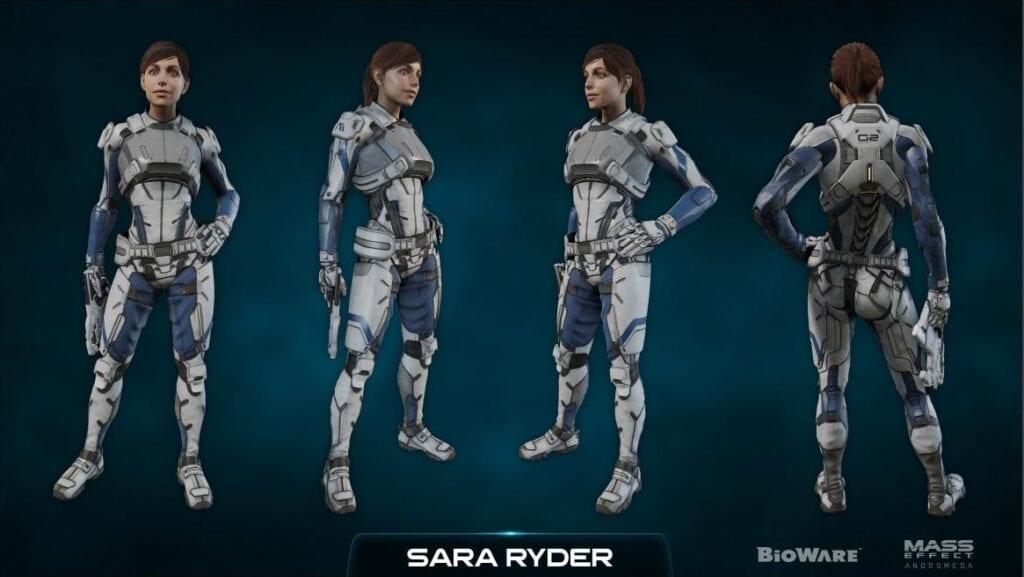 Andromeda Character Kits