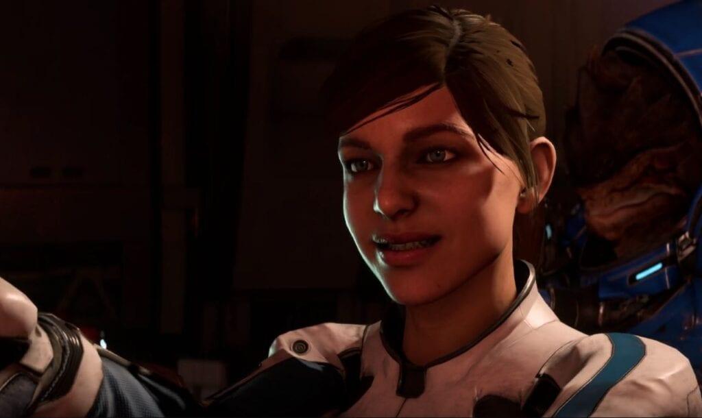 Andromeda facial animations