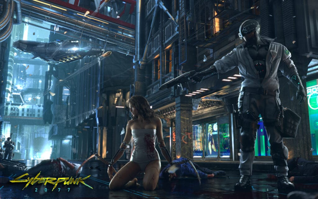Cyberpunk 2077's Immersion
