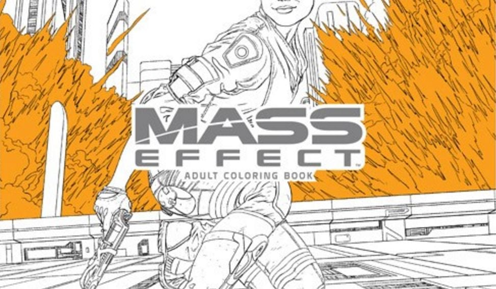 Mass Effect: Andromeda Coloring Book