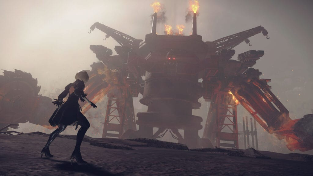 Nier Automata's hard mode