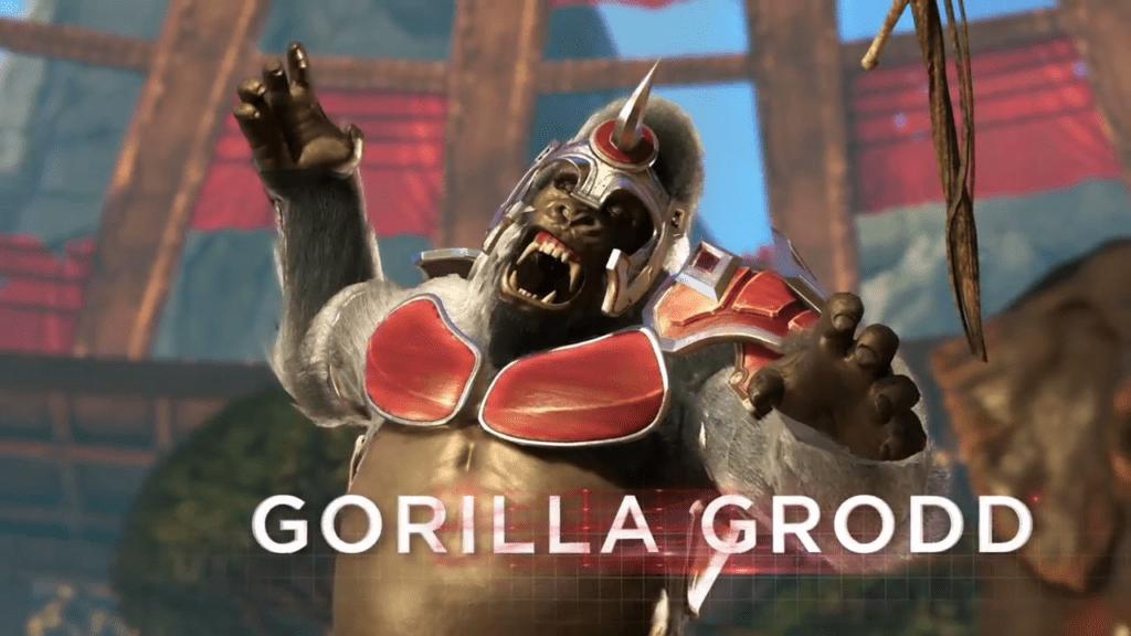 injustice 2 reveal gorilla grodd
