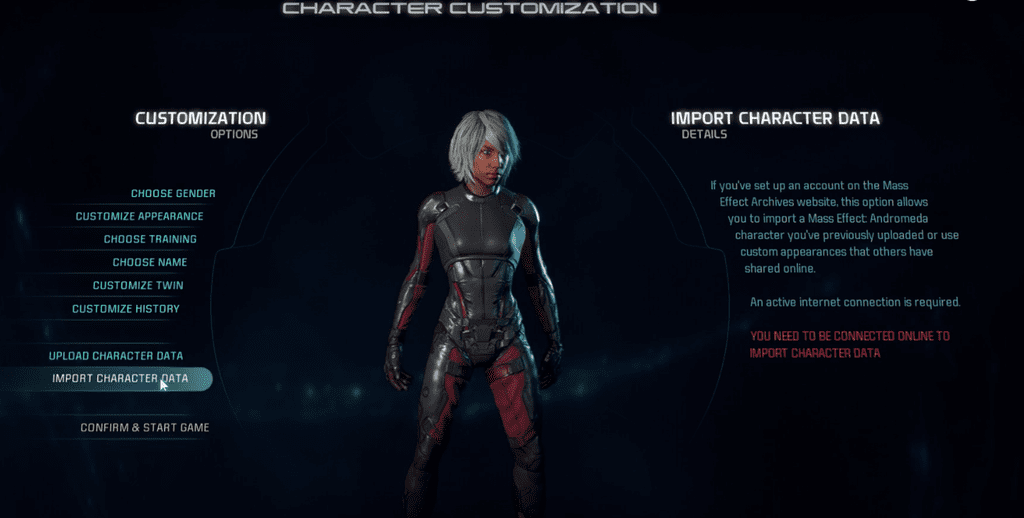 Mass Effect Andromeda Custom Ryder