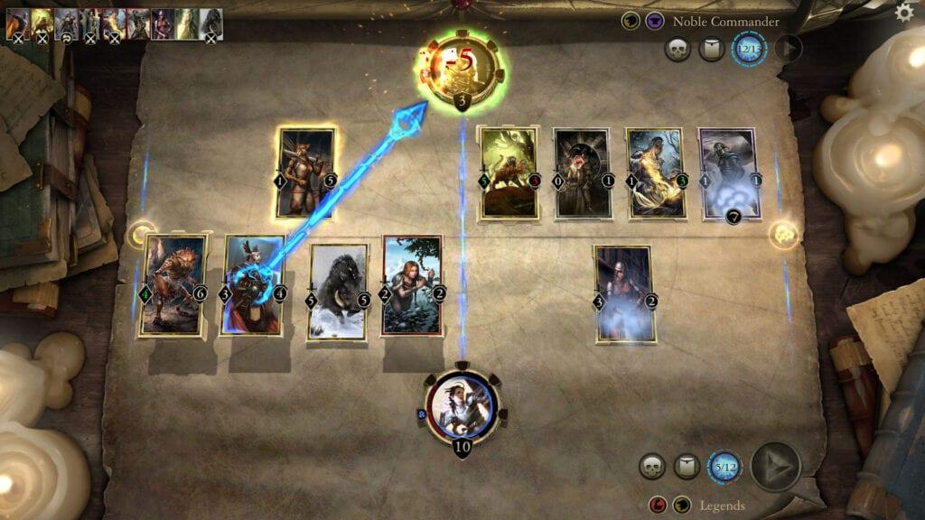 the elder scrolls legends card game