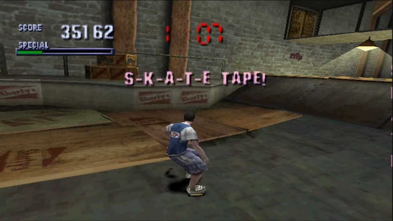 tony hawks pro skater gameplay tony hawk series