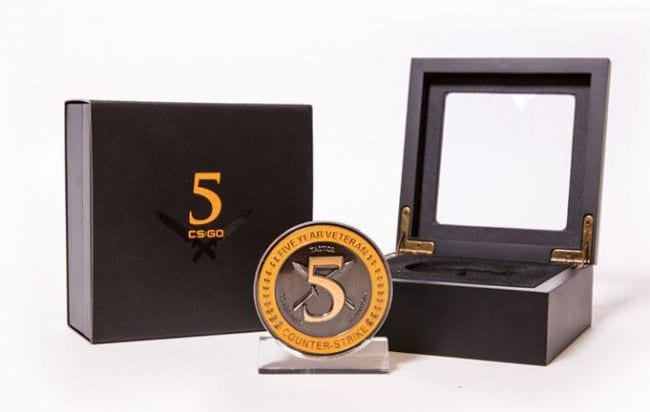 CS:GO's Five Year Veteran Coin