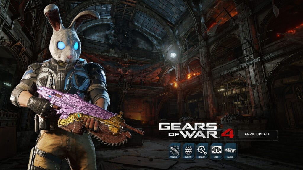 Gears of War 4 April Update - Easter Event