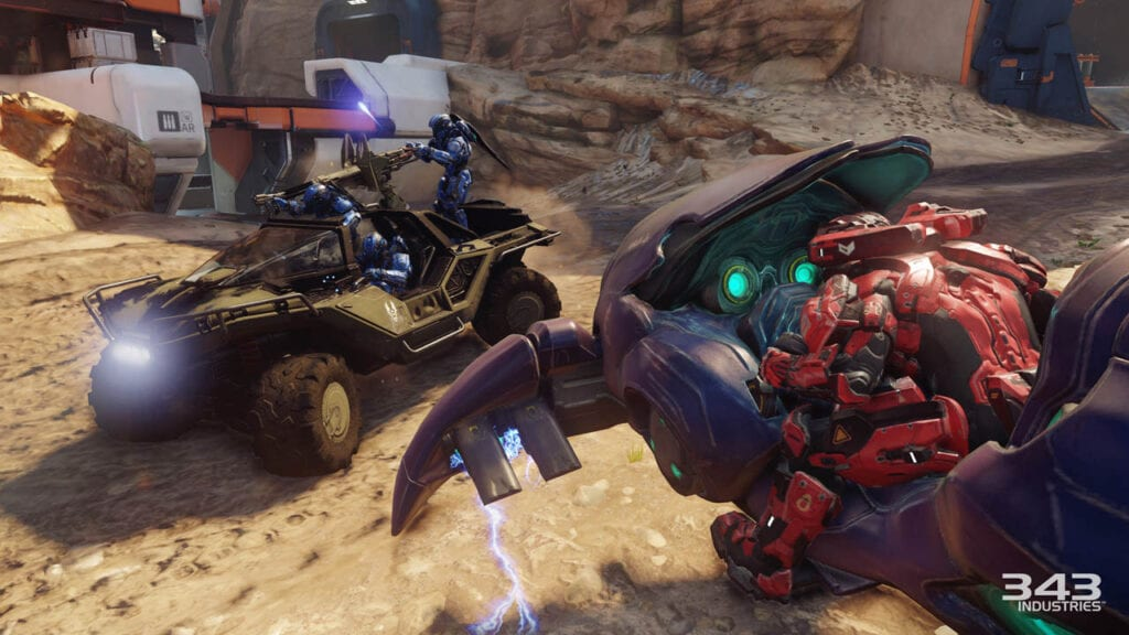 Halo 5 Big Team Battle