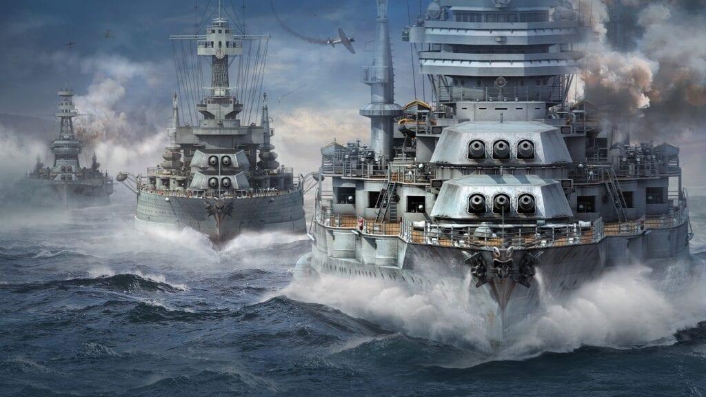 World of Warships Anime DLC
