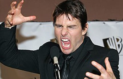 Crazy Tom Cruise