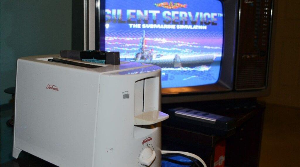 Toaster NES Console Mod