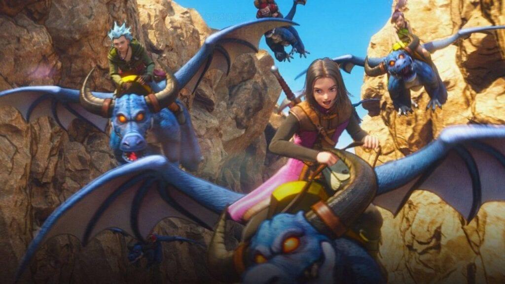 Dragon Quest XI screenshots PS4