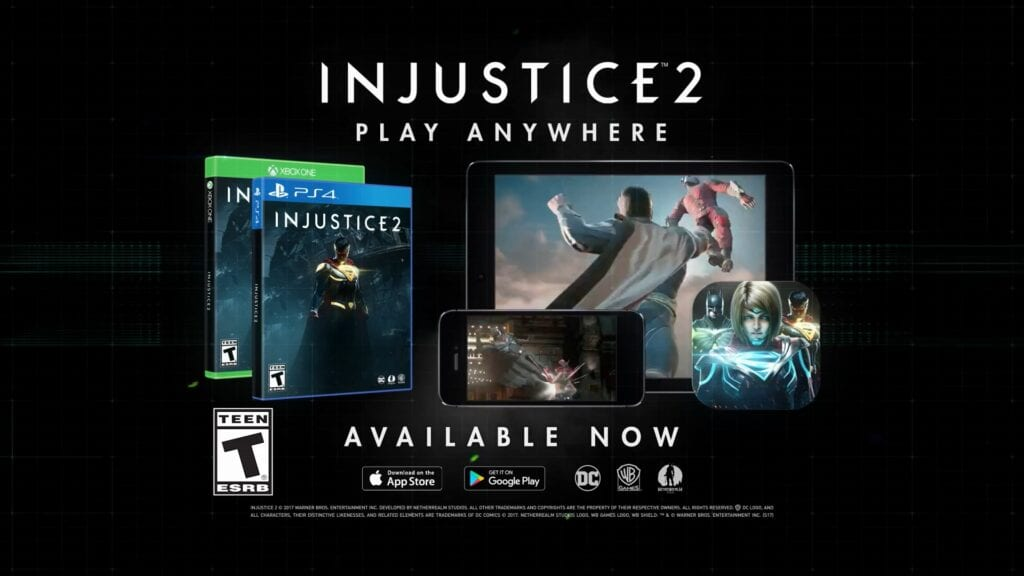 injustice 2 launch trailer available now