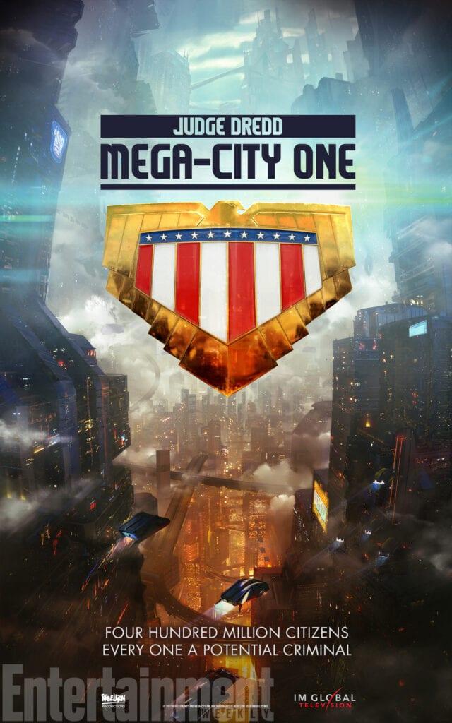 tv series judge dredd mega city one