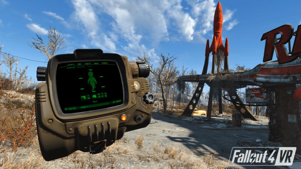 fallout 4 vr trailer pip boy