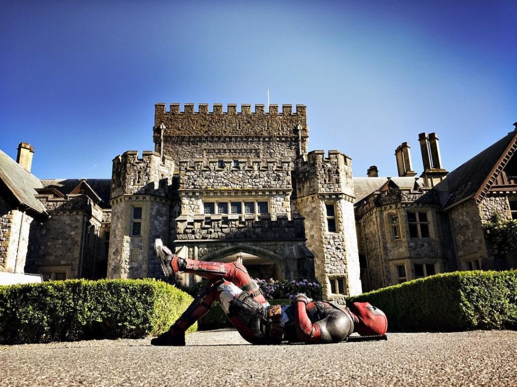 Deadpool 2 set photo