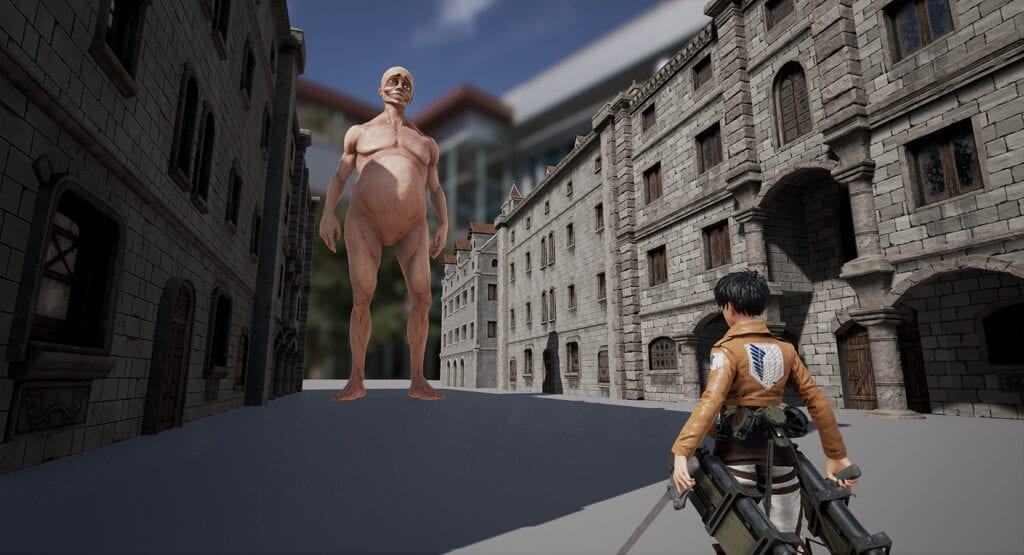 Fan Made Attack on Titan Game