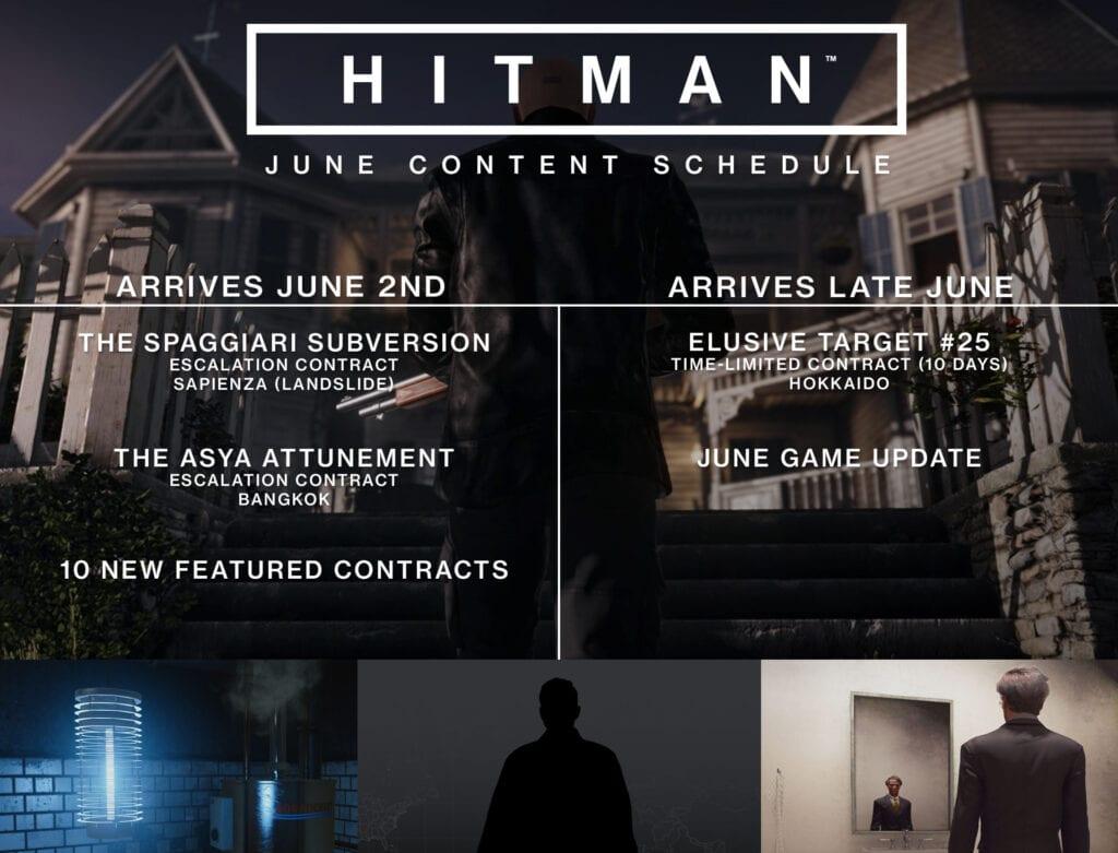 june hitman content 2017