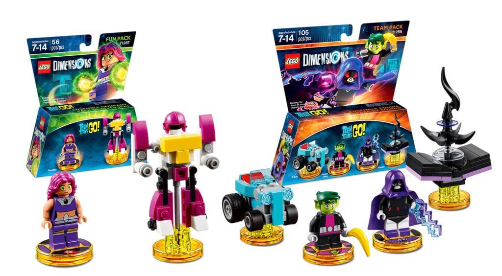 Lego Dimensions Teen Titans