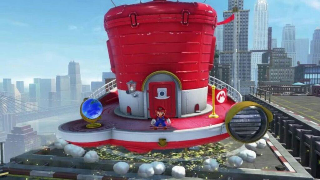 Super Mario Odyssey game trailer