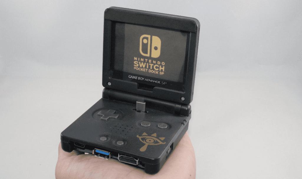 Game Boy Advance SP Mod