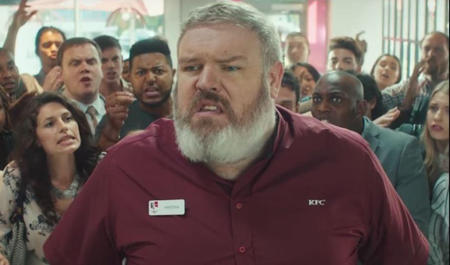 Hodor KFC Commercial