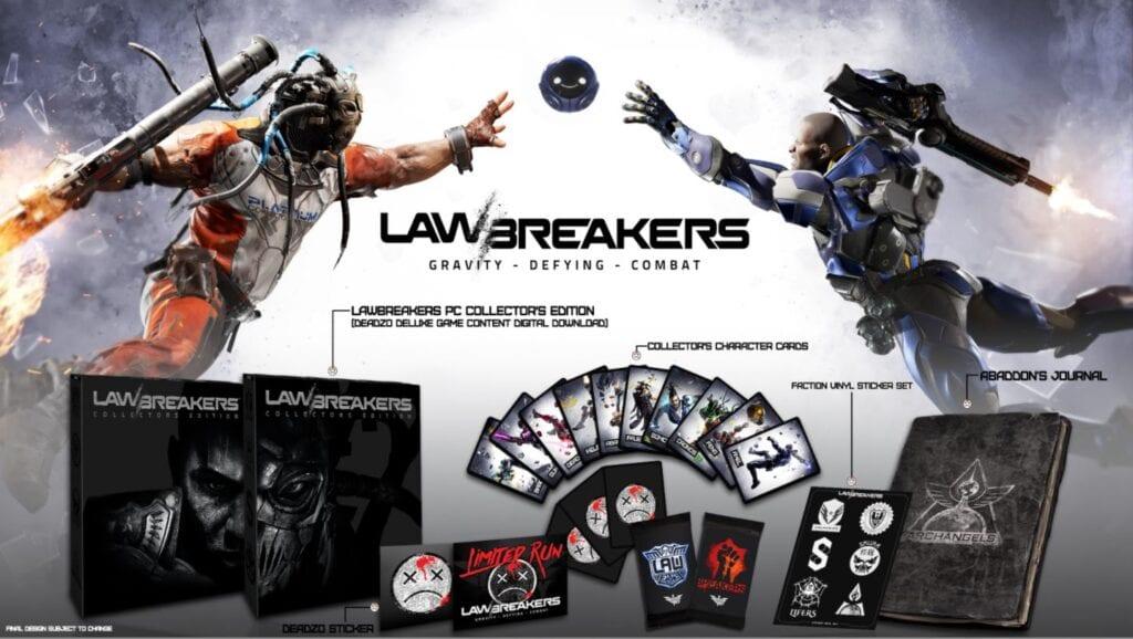 LawBreakers Collector's Edition