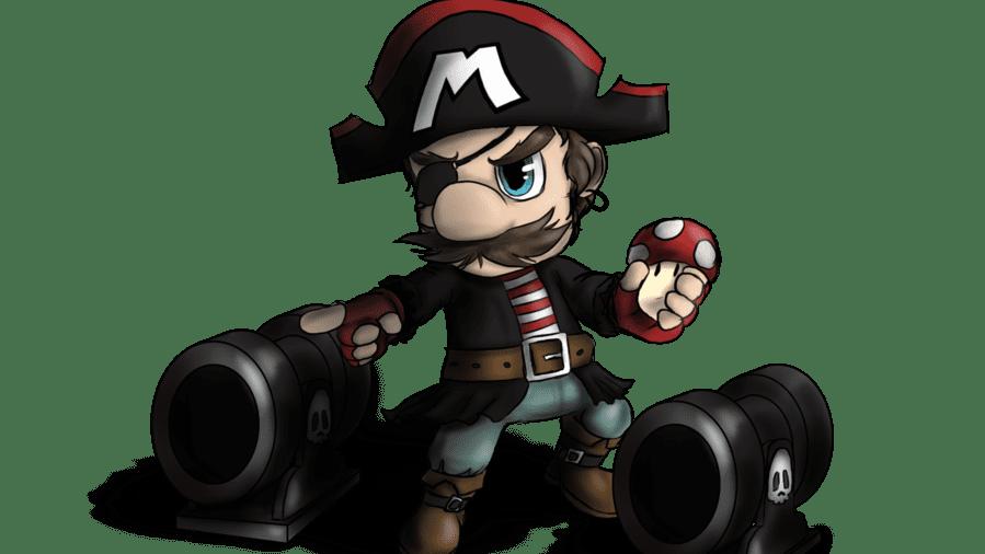Pirate Mario