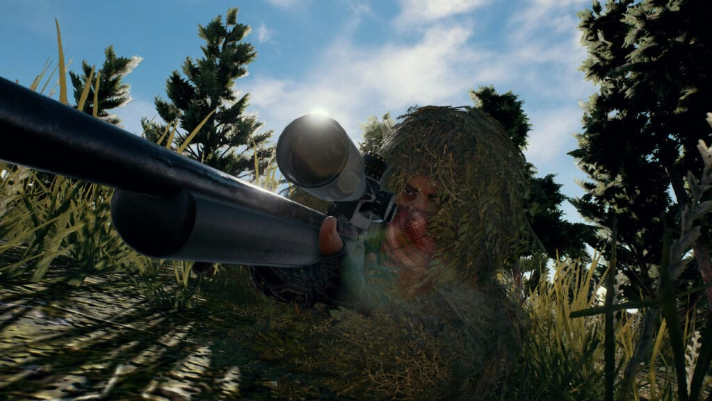 PUBG's first-person mode