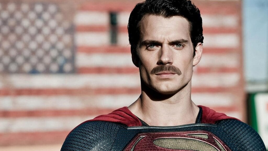 Superman Mustache Will be Erased in Justice League