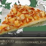 Final Fantasy-Themed Pizza - Heavensward Hawaiian