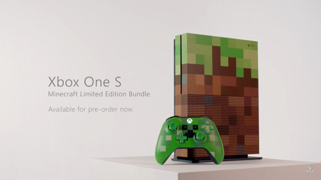 Xbox One S Minecraft Limited Edition