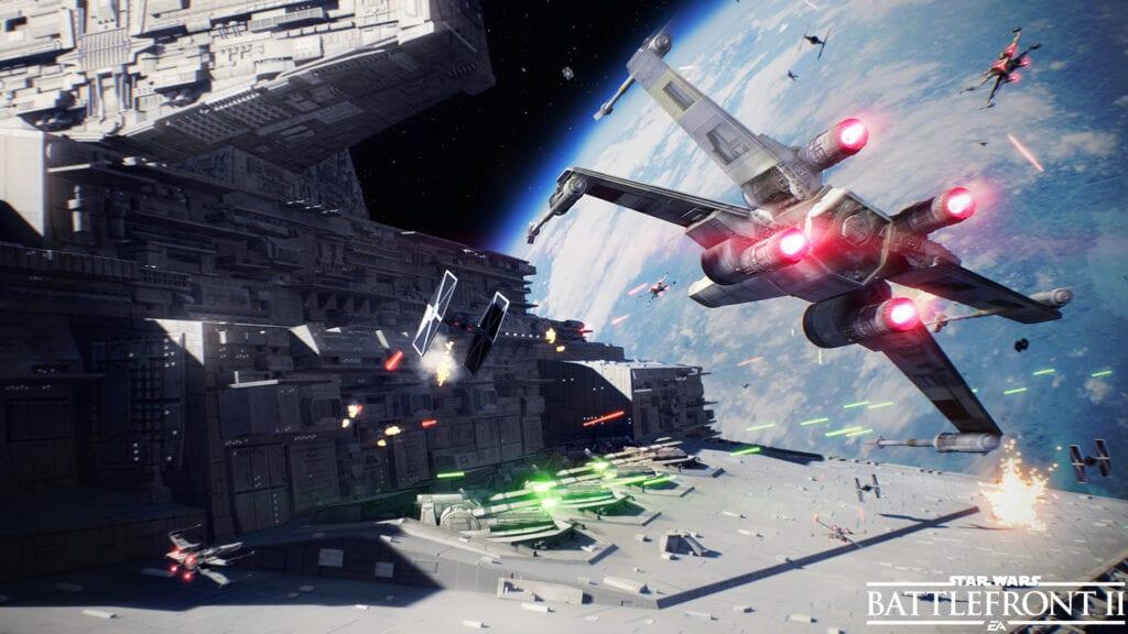 Star Wars Battlefront II Space Battles 02