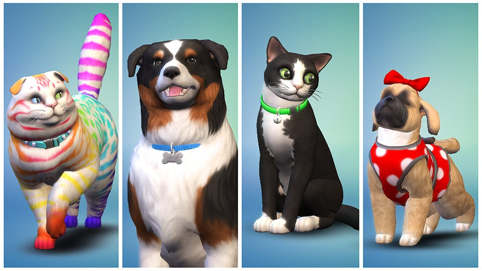 Sims 4 pets expansion
